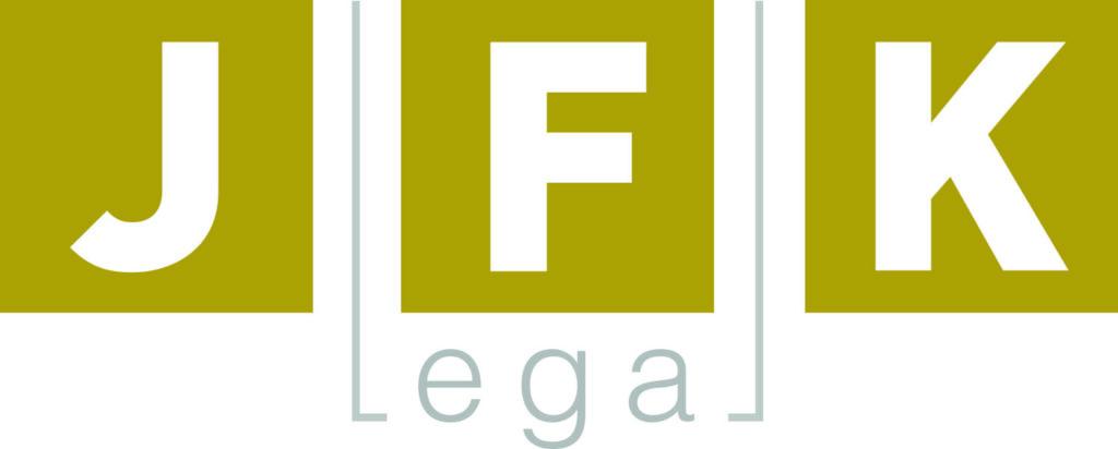 advokátní kancelář JFK legal logo - advokáti Praha a Poděbrady