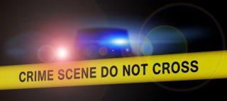 policejní páska - místo trestného činu